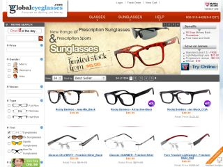 $10 Off On Orders Over $50 At Global Eye Glasses